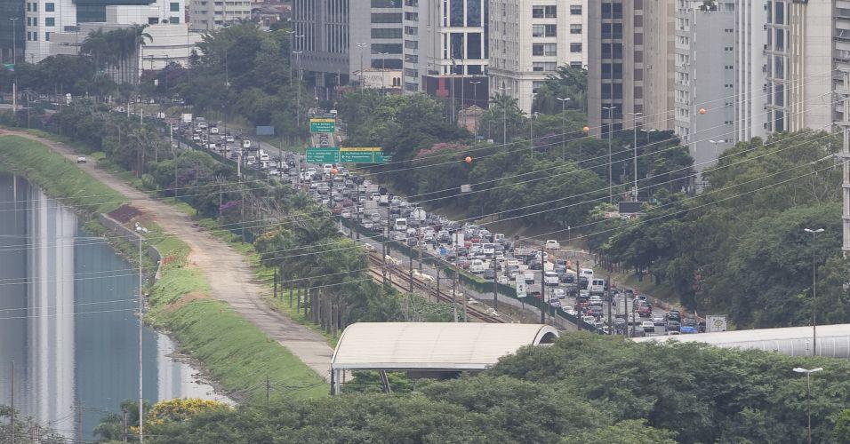 Trânsito em SP