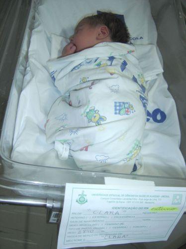 Bebê abandonado em Maceió