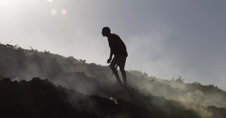 Lixo na Nicarágua