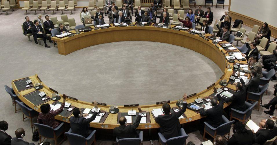 Votação na ONU