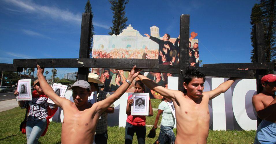 Protesto em San Salvador