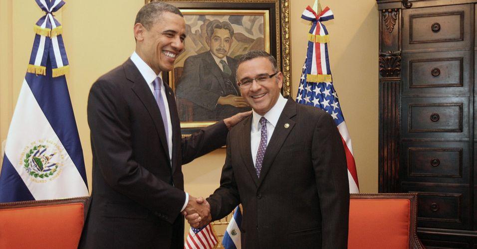 Obama em El Salvador