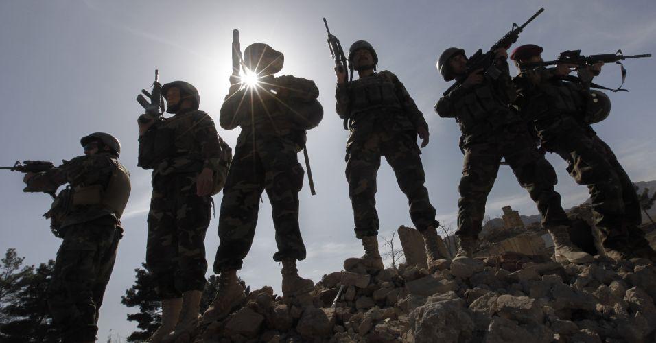 Treinamento no Afeganistão
