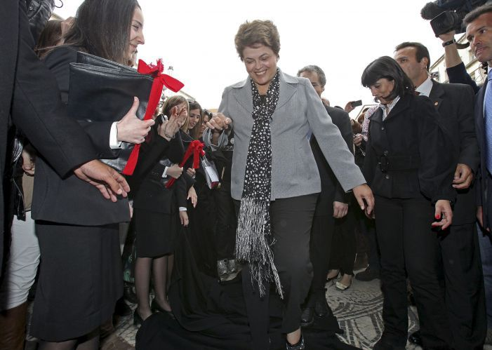 Dilma em Portugal