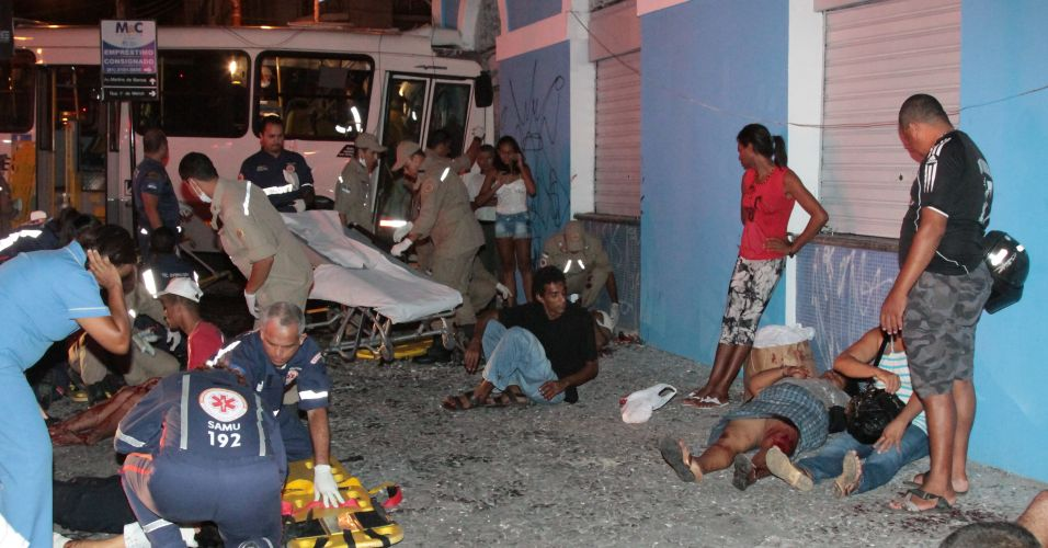Acidente no Recife