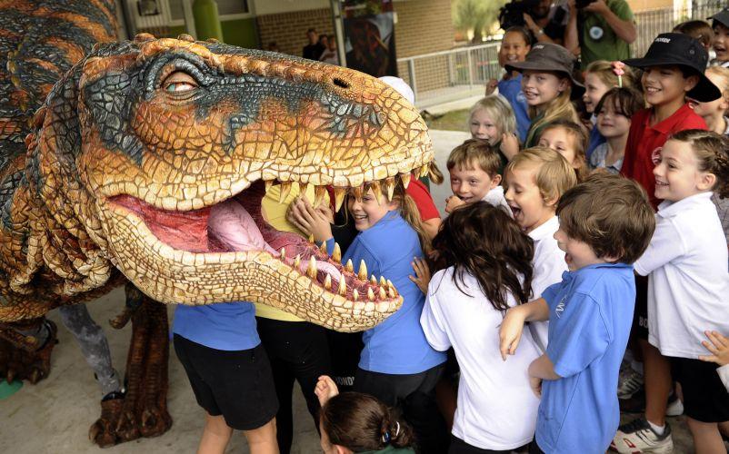 T-Rex na Austrália