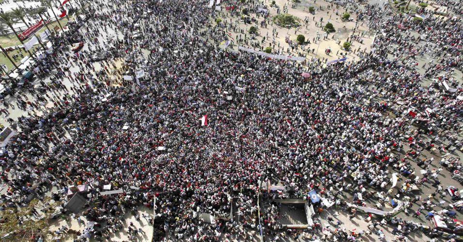 Concentração no Cairo