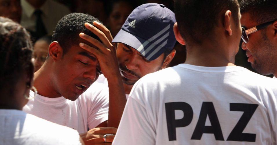 Vítima da violência no Rio