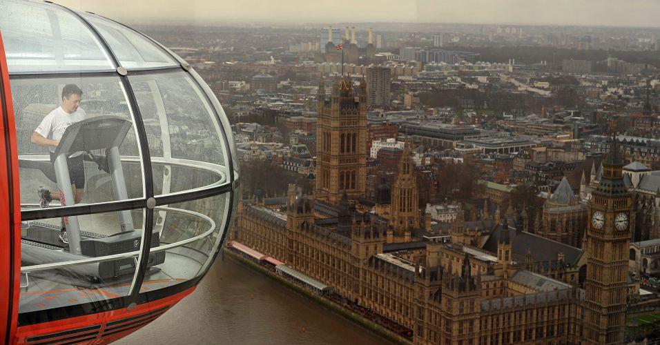Corrida em Londres