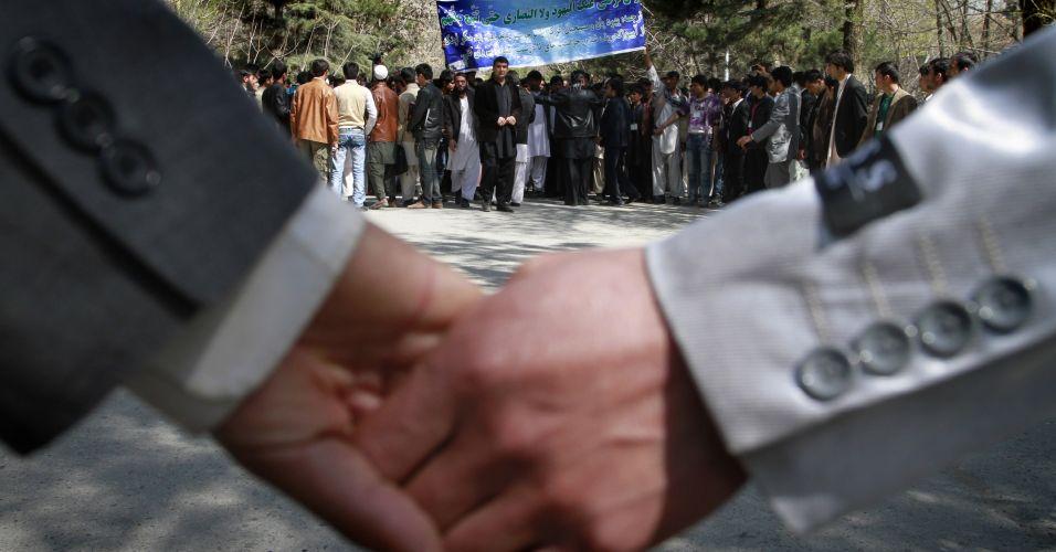 Protesto em Cabul