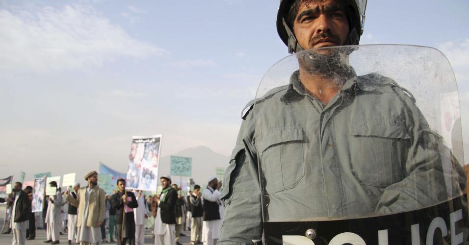 Protesto afegão