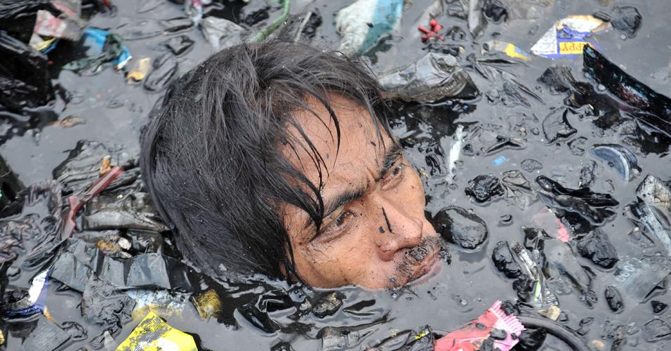 Destroços filipinos