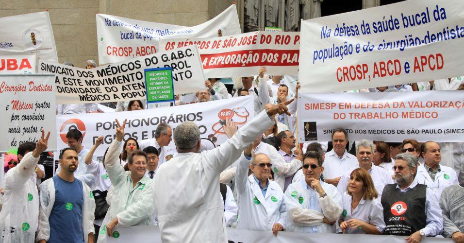 Protesto Médicos
