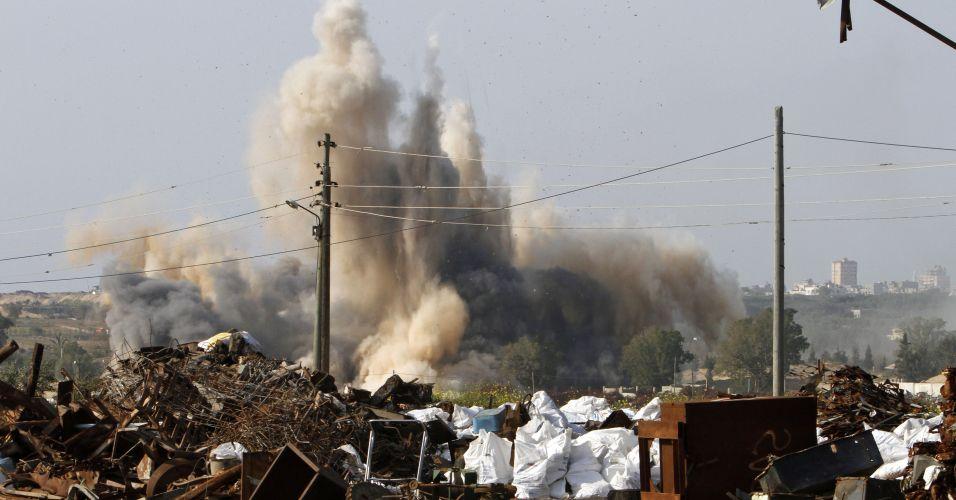 Ataque em Gaza