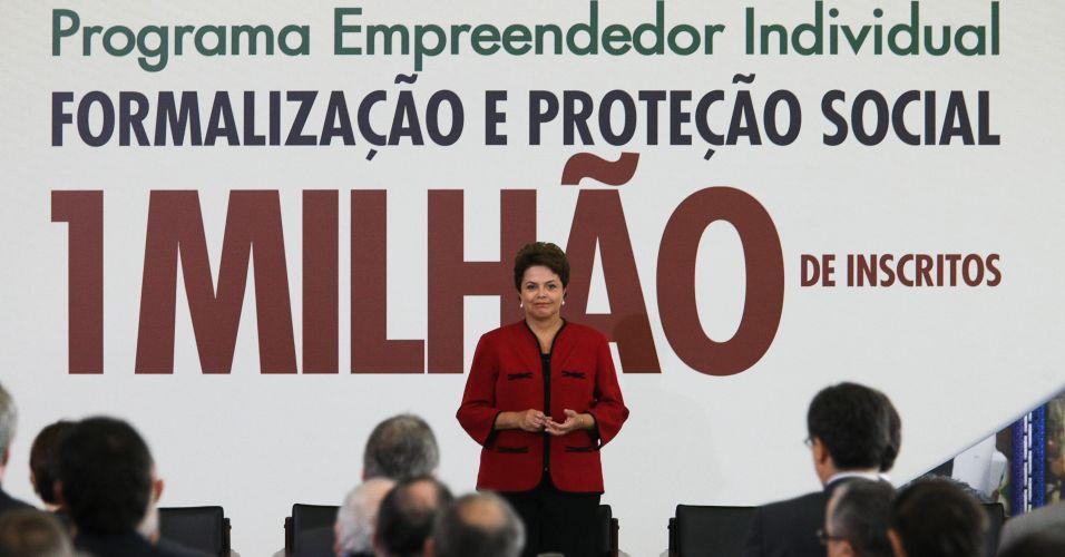 Dilma em evento