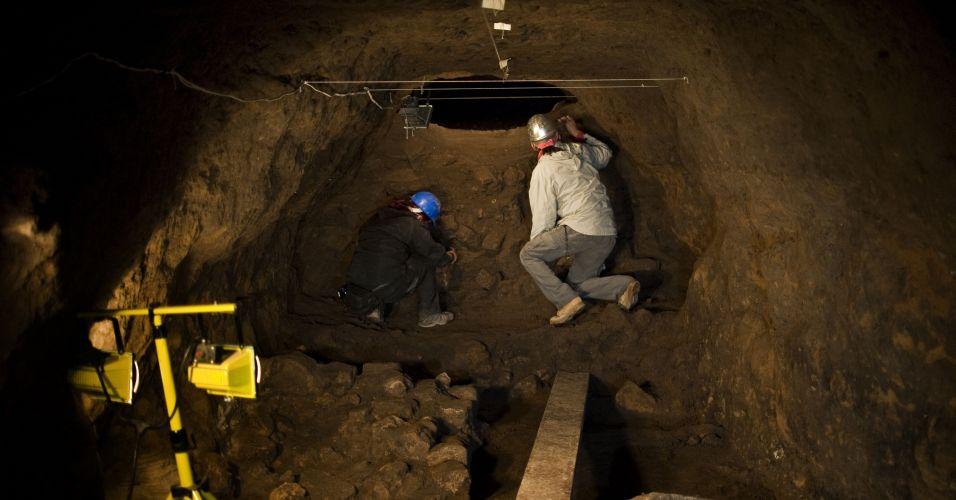 Arqueólogos no México
