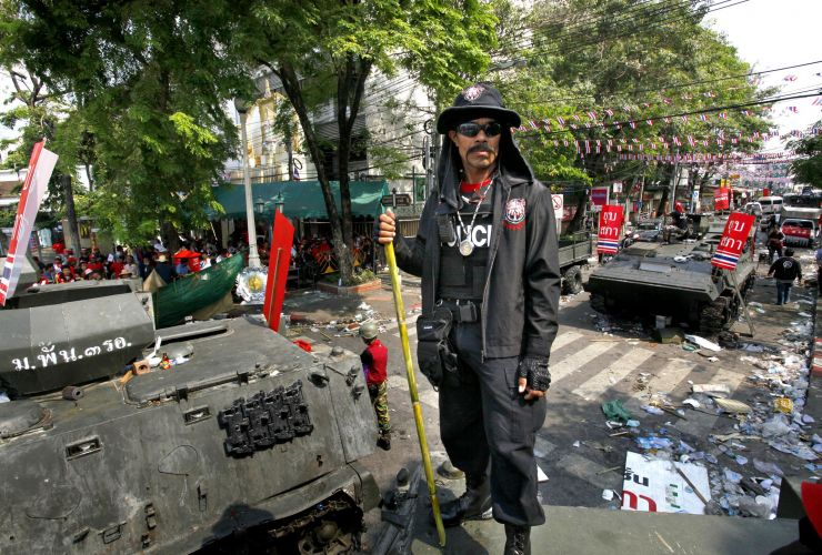 Conflito na Tailândia