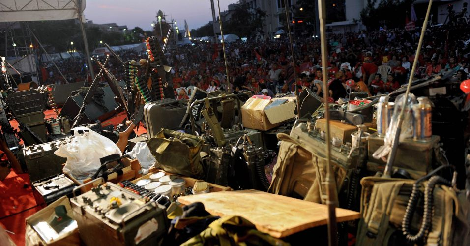 Conflito em Bangcoc