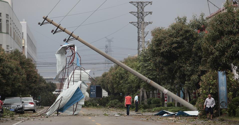 Tempestade na China