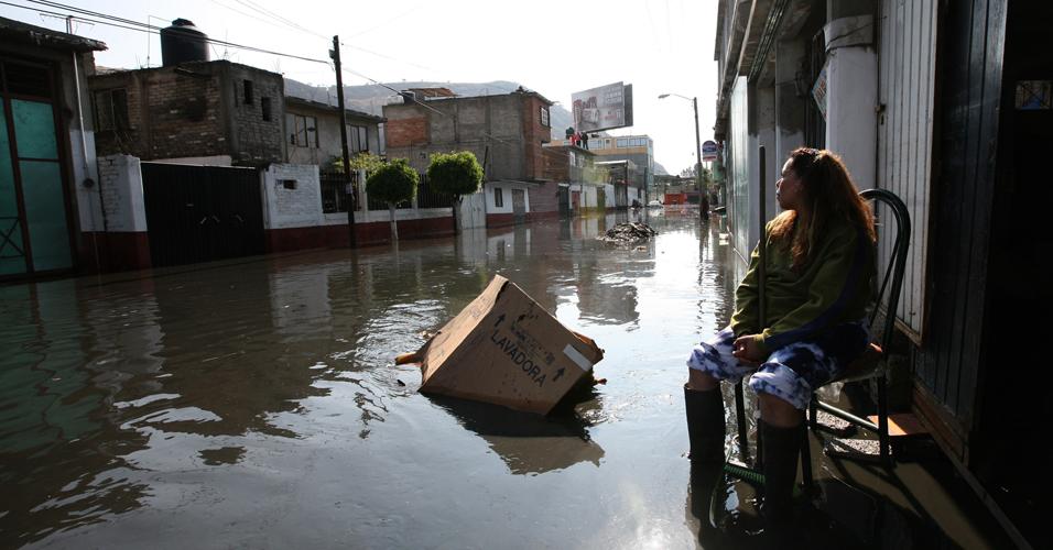 Enchentes no México