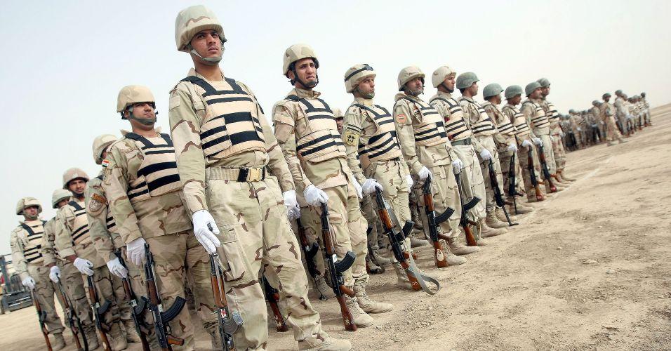 Exercício no Iraque