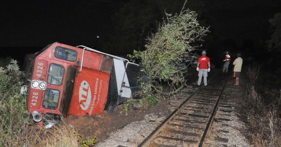 Acidente de trem no Rio Grande do Sul