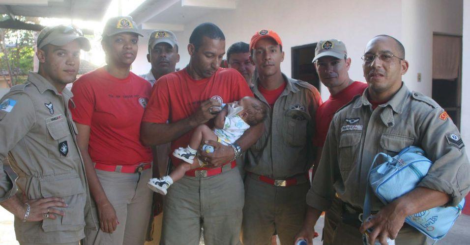 Bebê abandonado no Rio
