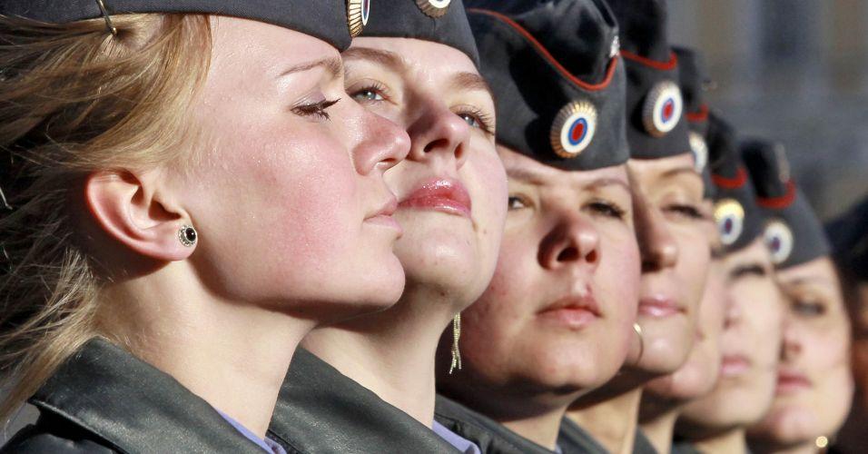 Policiais mulheres russas