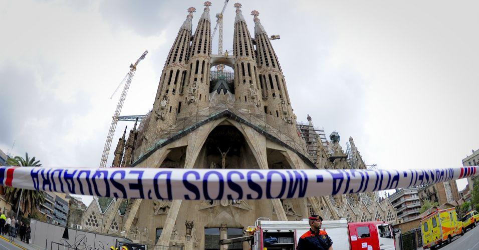 Incêndio na Sagrada Família