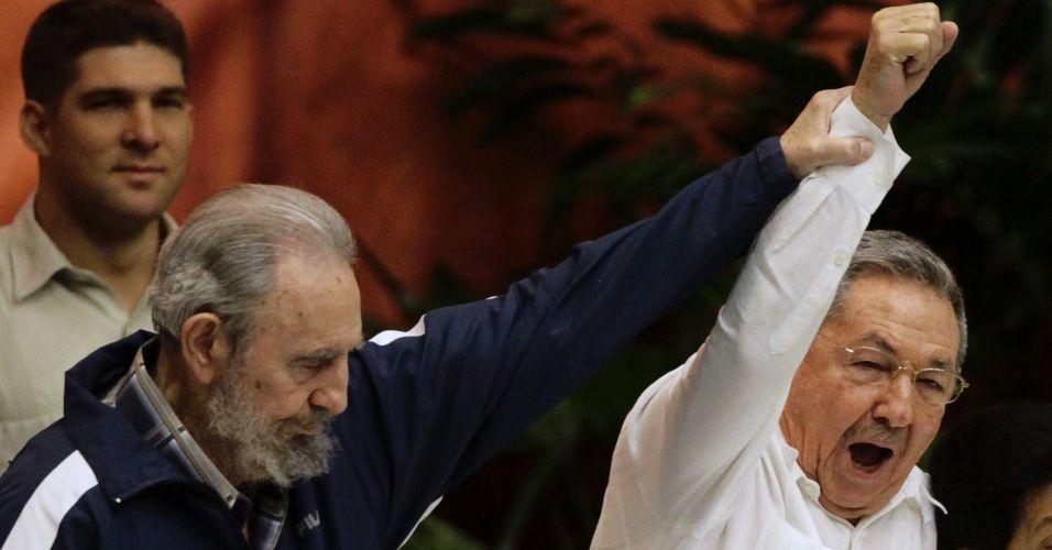 Fidel em Cuba