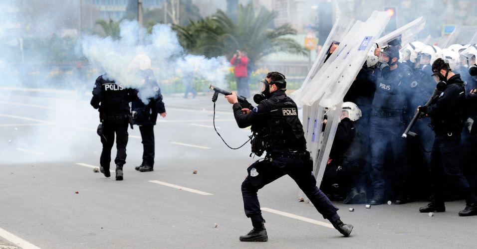 Protesto na Turquia