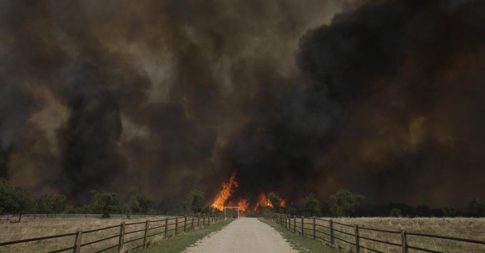 Incêndio no Texas