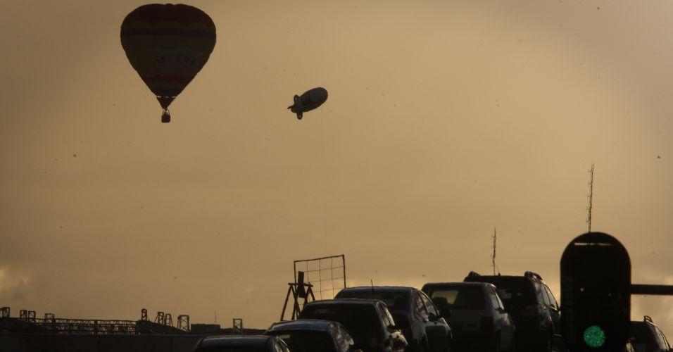 Balões em Brasília
