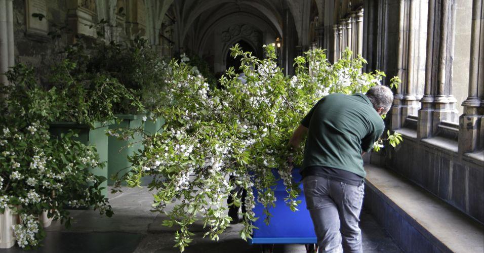 Flores para casamento real britânico
