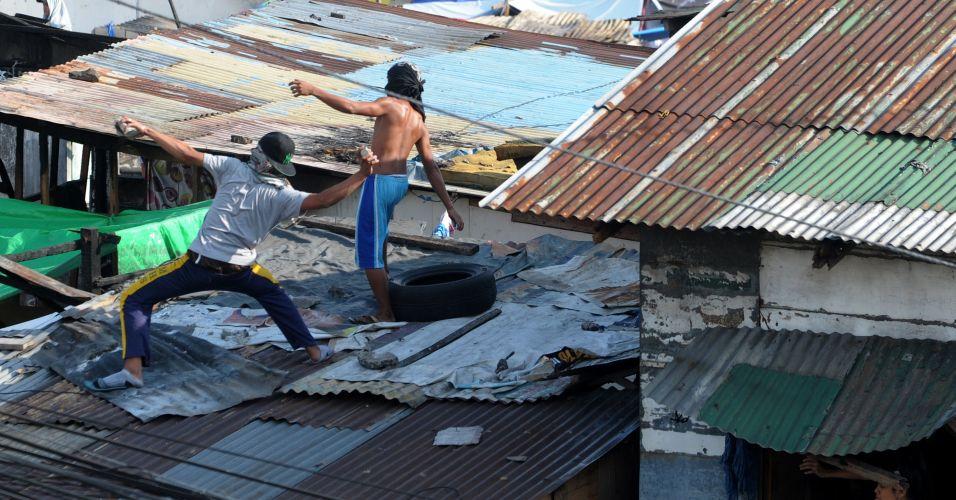 Protesto contra demolição nas Filipinas