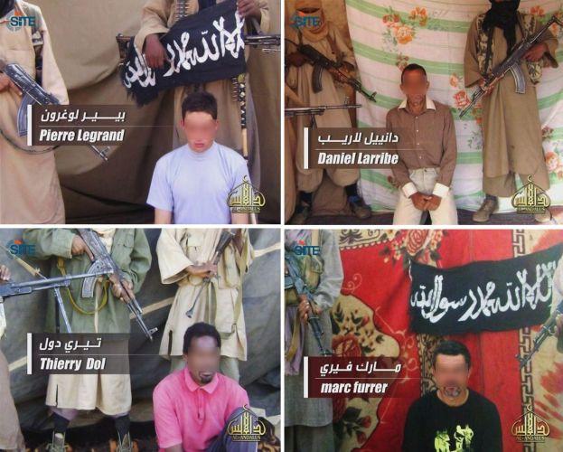 Franceses reféns da Al Qaeda no Maghreb Islâmico
