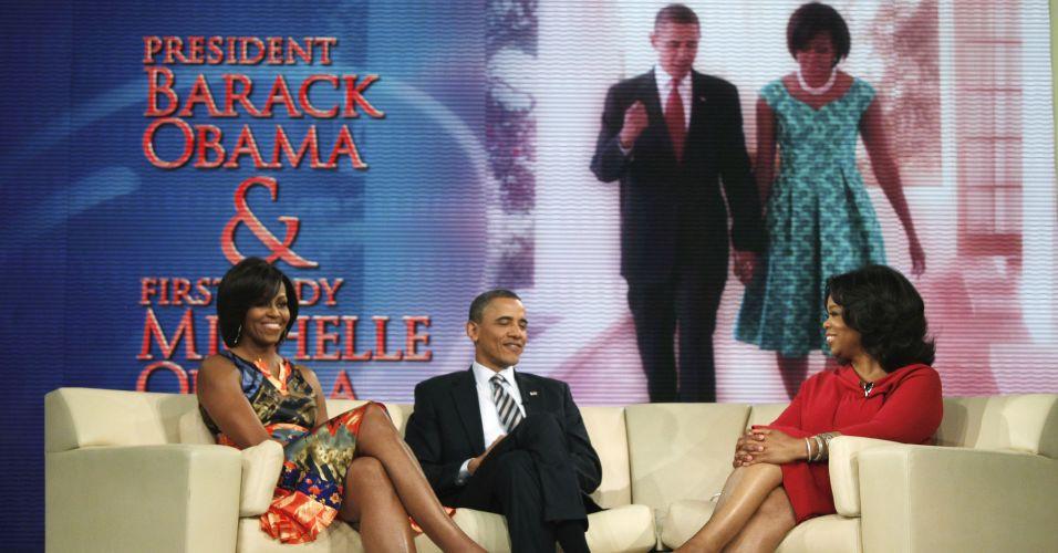 Casal Obama na TV