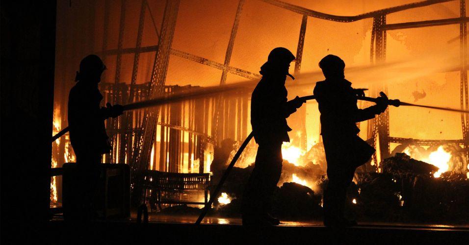 Fogo em São Paulo