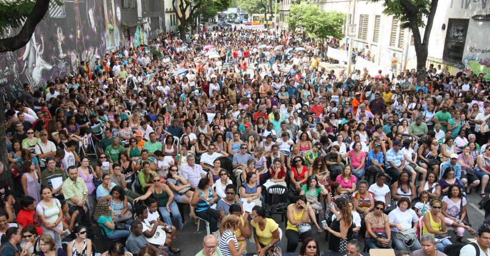 Greve em Belo Horizonte