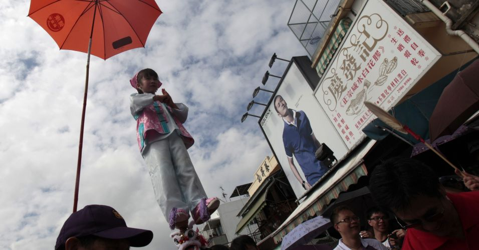 Festival em Hong Kong