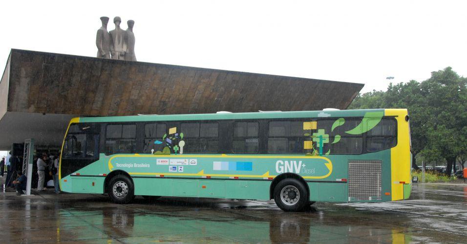 Ônibus ecológico no Rio