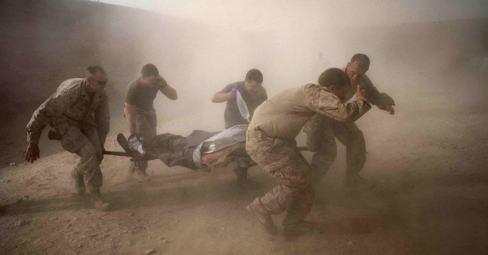 Marines no Afeganistão