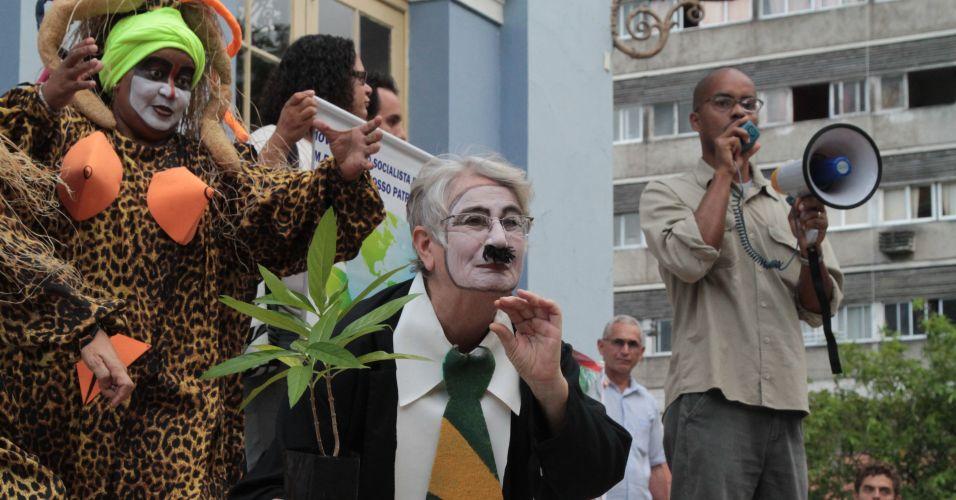 Protesto contra Código Florestal