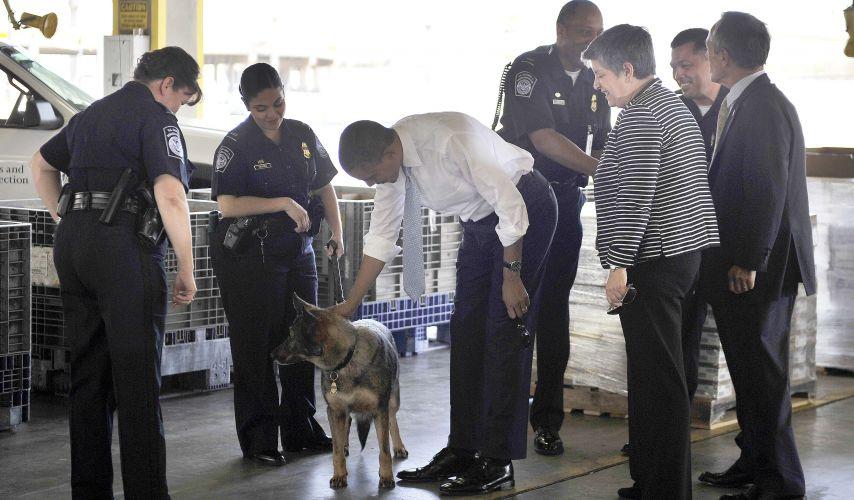 Obama na fronteira