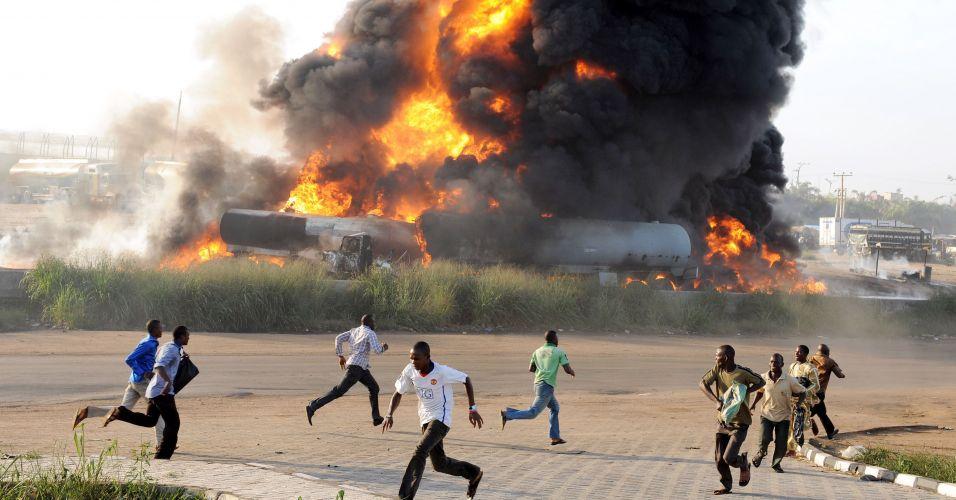 Acidente na Nigéria