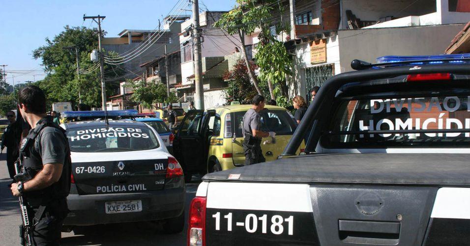 Taxista morto no Rio
