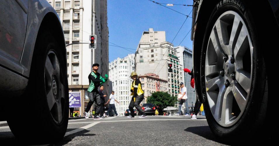 Proteção ao pedestre
