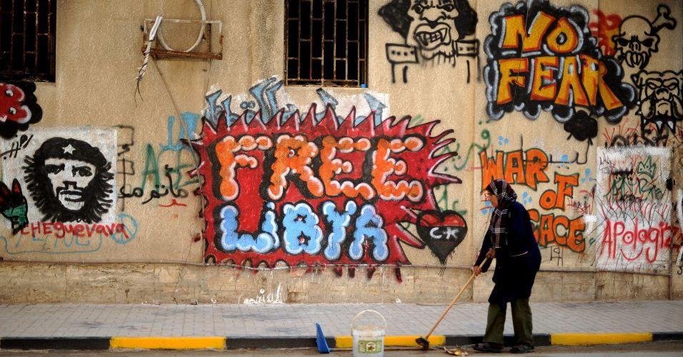 Pichação na Líbia