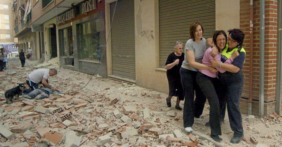 Terremoto na Espanha