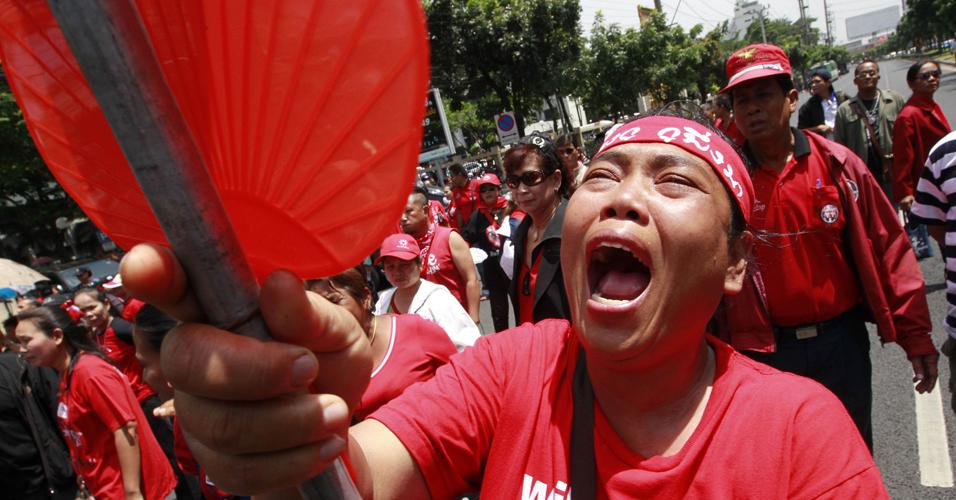 Camisas vermelhas